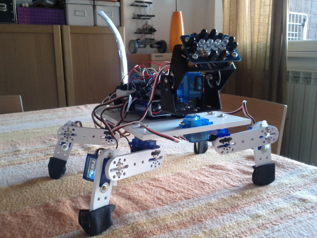Cane my dog quadrapod robot