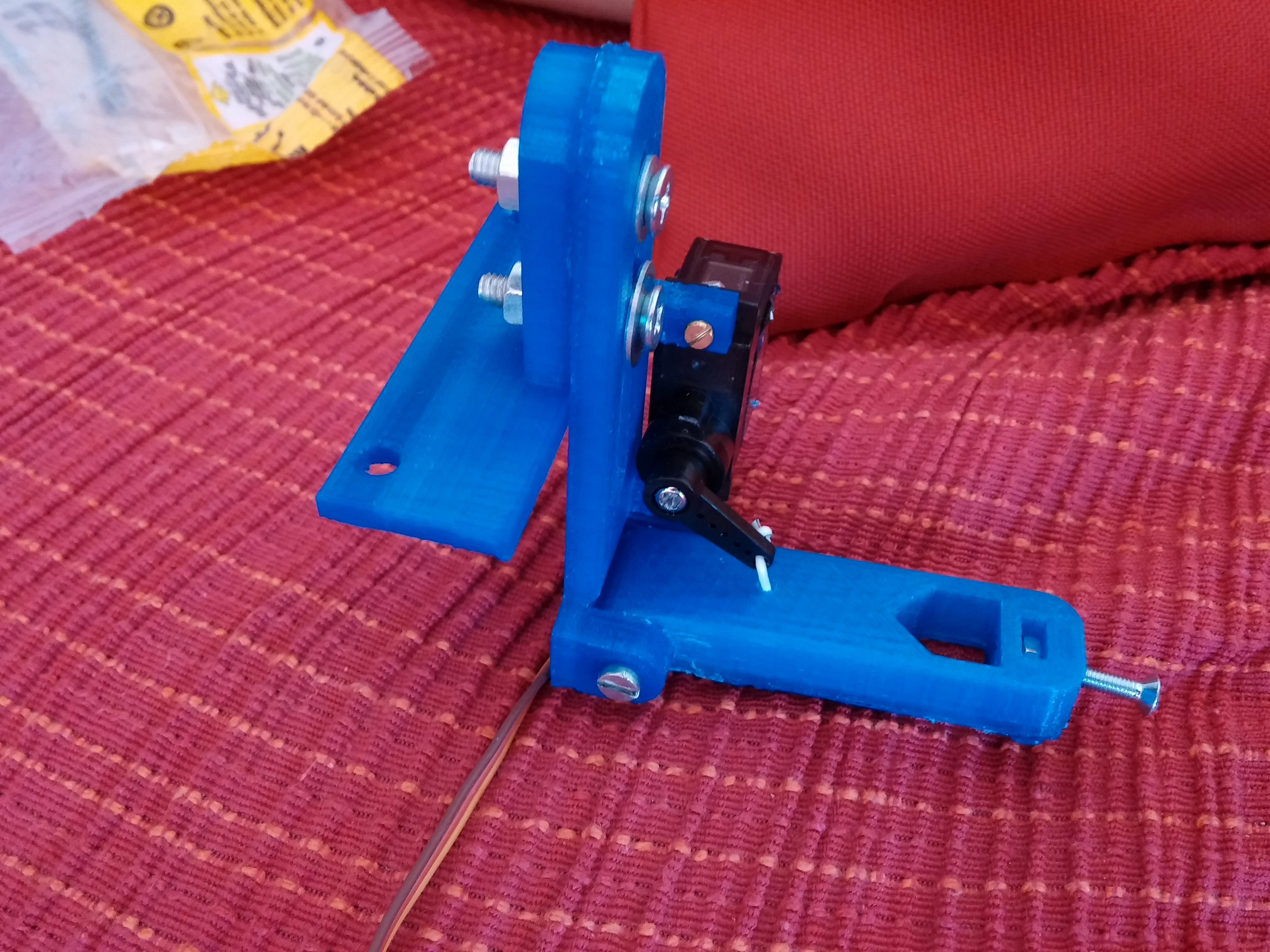 Cartesio - low cost cartesian plotter robot